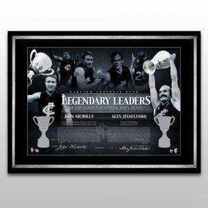 Carlton FC – Nicholls And Jesaulenko – Legendary Leaders