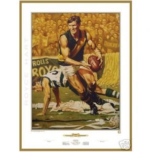 Richmond FC – Jamie Cooper Royce Hart Richmond Signed Print