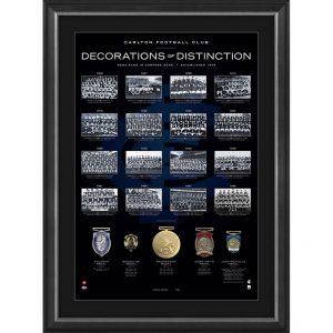 Carlton Football Club 'Decorations Of Distinction'
