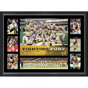 Richmond 2017 Premiers 'Fighting Fury' Print