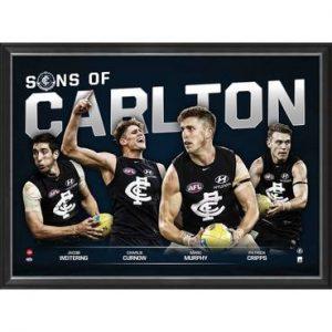 Carlton Football Club 'Sons Of Carlton' Print