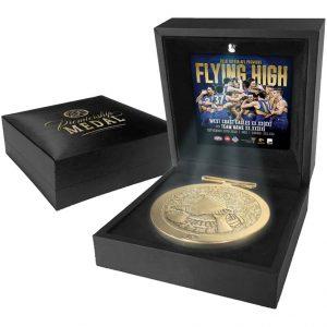 West Coast Eagles 2018 AFL Premiers Medal Display