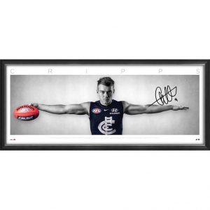 Patrick Cripps Signed Wings