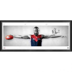 Max Gawn Signed Wings
