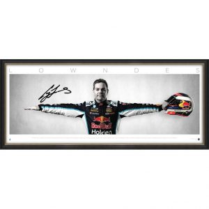 Craig Lowndes Signed 'Wings'