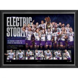 Melbourne Storm 2020 Premiers Framed Sportsprint