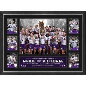 Melbourne Storm 2020 Premiers Tribute Frame
