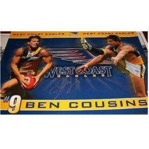 West Coast FC – Ben Cousins Signed Print
