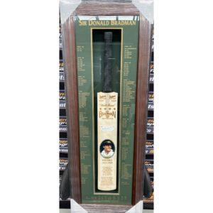 Sir Donald Bradman Personally Signed Cricket Bat