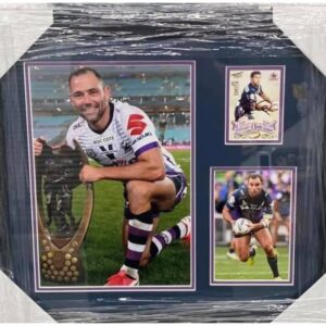 Melbourne Storm Cameron Smith Signed Collage