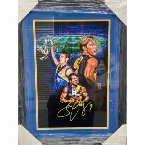 Eagles Signed Montage By Ben Cousins
