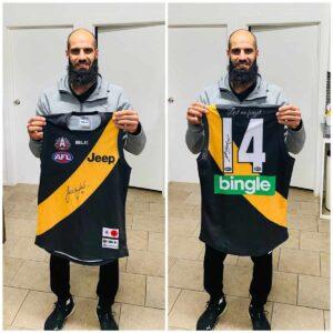Bachar Houli Signed Anzac Day Match Worn Jumper
